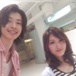 本日のお客様☆アッシュMIXで透明感重視の春カラー!