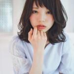 春ヘア✨ちょい外ハネのミディアムヘア☆