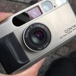 念願のフィルムカメラ!contax T2!!